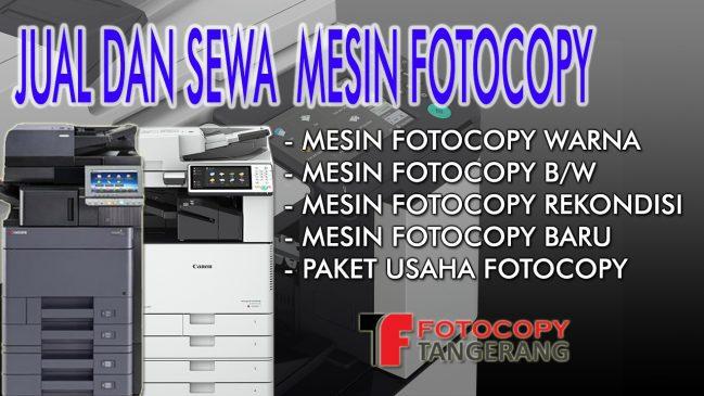 Jual Mesin Fotocopy di Tangerang