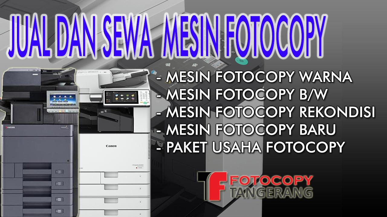 Jual Mesin Fotocopy pondok aren